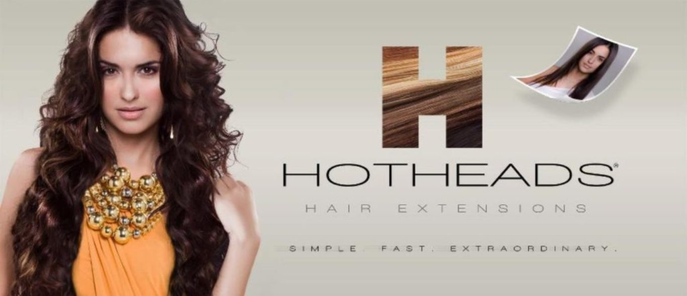 Hotheads hair extensions at Hier and Haines Salon